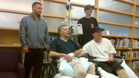 ht norden mi 130430 wblog Brothers Who Lost Legs in Boston Bombing Reunited