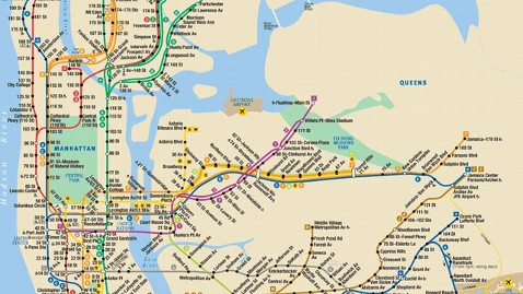 ht nyc subway map thg 121022 wblog Whale Imitates Human Speech; Unfinished John Lennon Lyrics