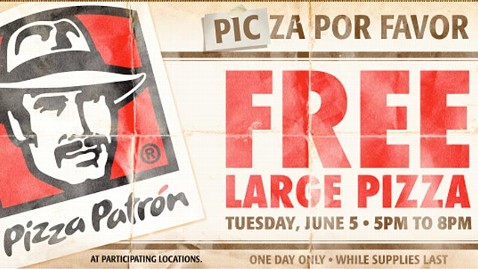ht pizza patron ad ll 120523 wblog Pizza Por Favor: Spanish Offer Draws Backlash