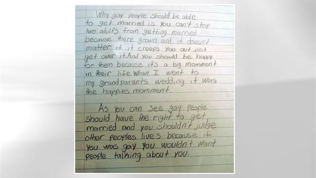 ht pro gay letter jef 130425 wmain Fourth Graders Pro Gay Marriage Essay Goes Viral