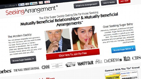 ht seeking arrangement nt 130116 wblog Economy May Be Fueling Sugar Daddy Business, Site Suggests