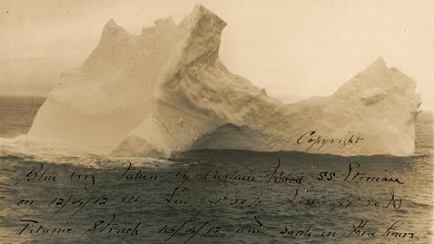 ht titanic iceberg jp 121126 wblog Photo of Iceberg That Sank the Titanic Up for Sale