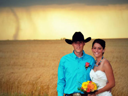 ht tornado wedding kb 120522 main Tornado Backdrop in Kansas Wedding Photos