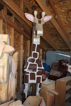ht vean woodbrey carousel giraffe lpl 121205 vblog Two Time Cancer Survivor Builds Carousel in Race Against Time
