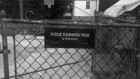 ht white only pool sign wy 111214 wblog White Only Pool Sign Discriminatory, Not Decorative Commission Rules