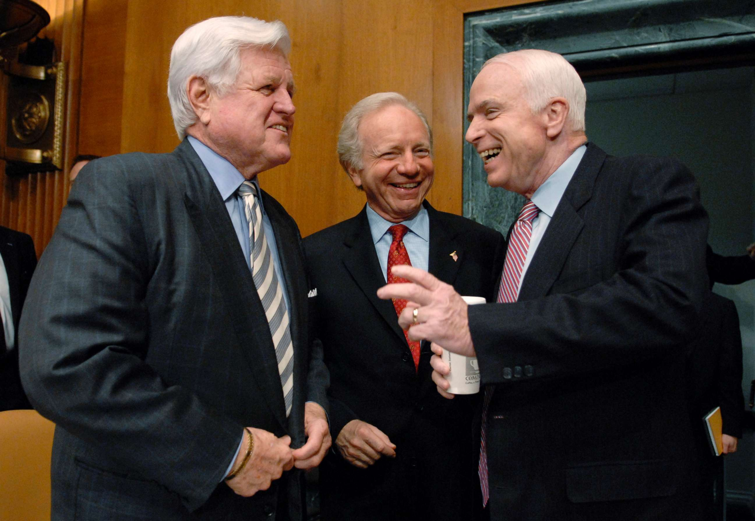 Image result for PHOTOS OF TED KENNEDY AND JOHN MCCAIN