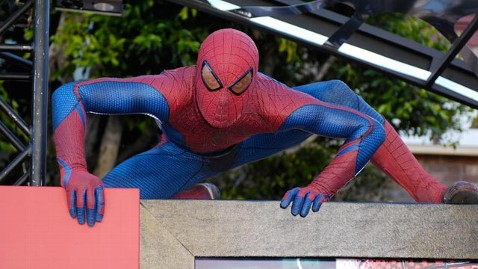 ld spider man ll 130429 wblog Who Was That Masked Man? Spider Man Impersonator Snatches $6,000