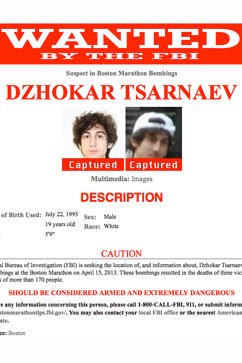 pd tsarnaev kb 130419 vblog LIVE UPDATES: Boston Bombing Suspect in Custody, Say Police