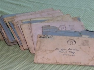 VIDEO: New Jersey woman found bundle of letters from World War II and tracked down the couple's family.