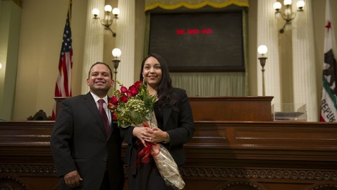zp assemblyman proposes nt 120508 wblog California Lawmaker Proposes Marriage on Assembly Floor