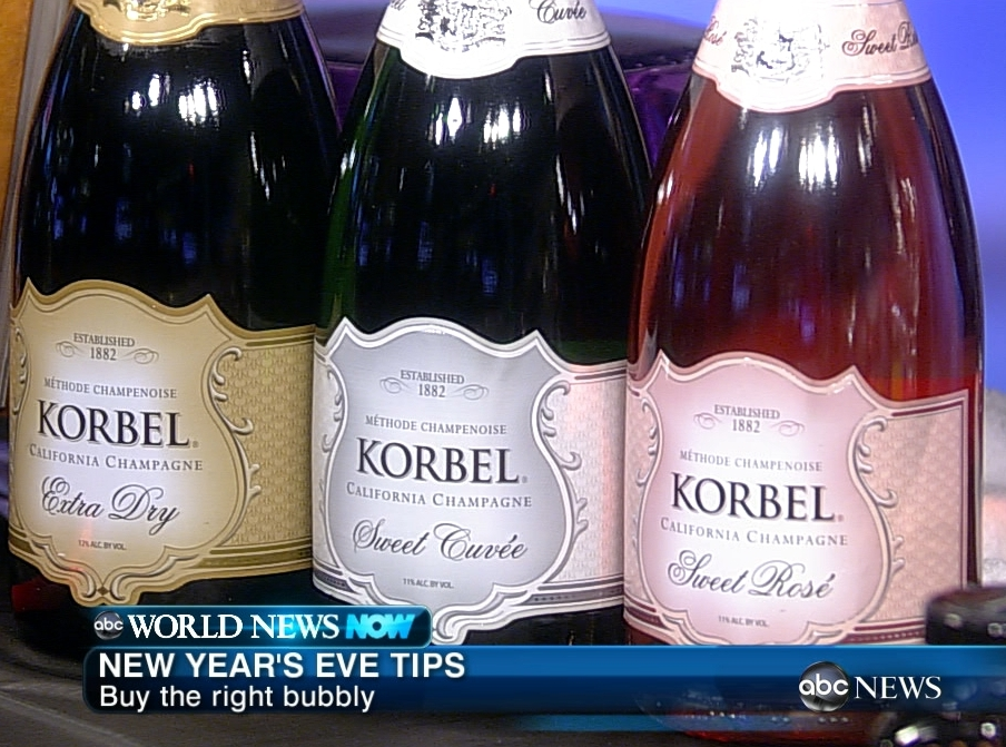 111229 wnnHD korbel thumb New Years Eve 2011 Party and Drink Ideas