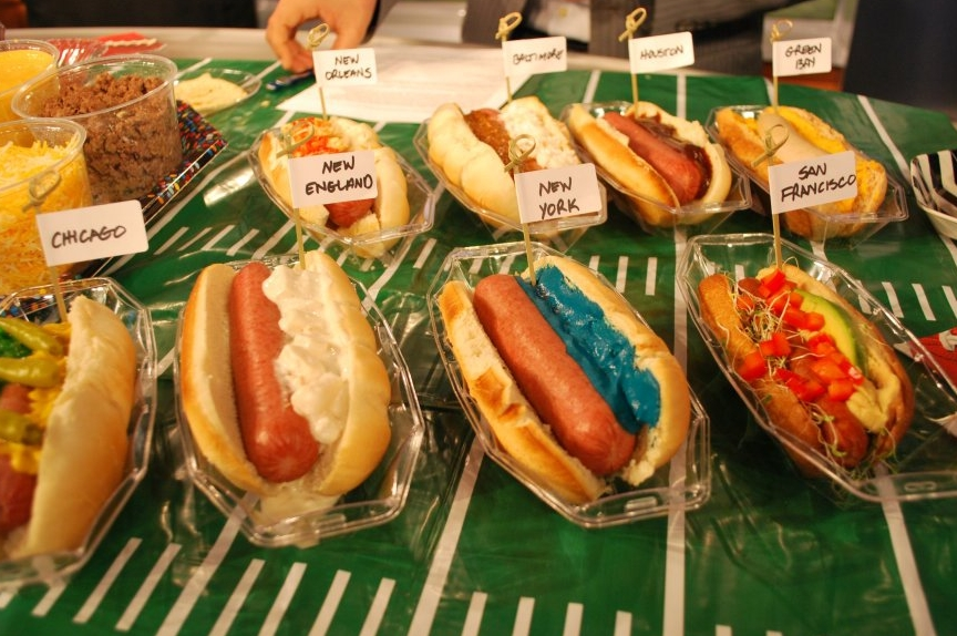 120202 wnn tim laird hot dogs Super Bowl 2012 Food & Drink Ideas