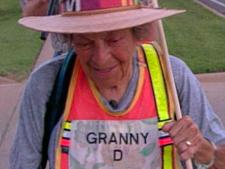 VIDEO: Campaign Finance Reform Activist 'Granny D' Dead at 100