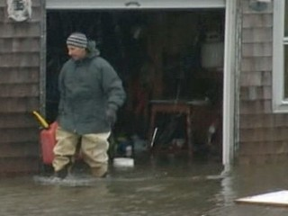 VIDEO: Reports are coming in of fires and flooding across New England.