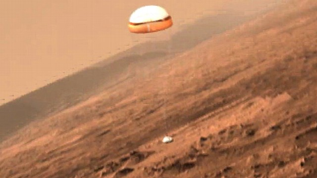 YouTube Mars Rover Landing - Pics about space