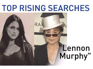 Lennon Murphy and Yoko Ono